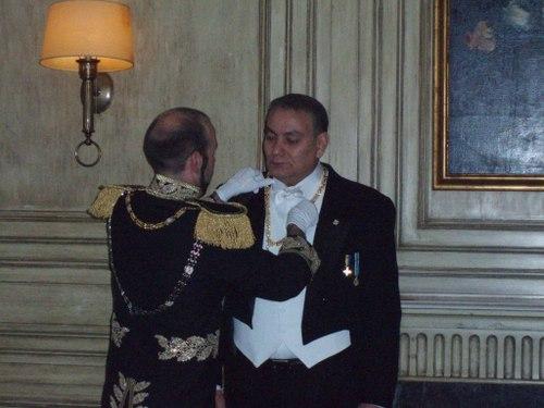 DIGNATARIO DE LA IMPERIAL ORDEN DEL TEOCRATOR.